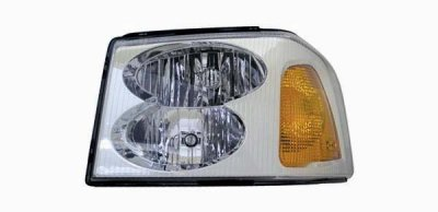 GMC Envoy 2002-2008 Left Driver Side Replacement Headlight
