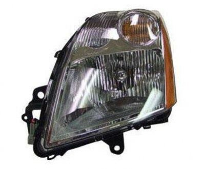 2009 Nissan Sentra Clear Left Driver Side Replacement Headlight