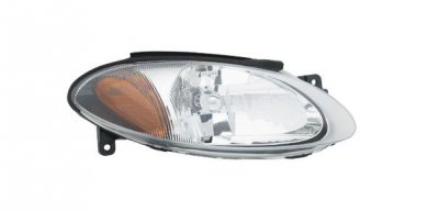 Ford Escort ZX2 1998-2003 Right Passenger Side Replacement Headlight
