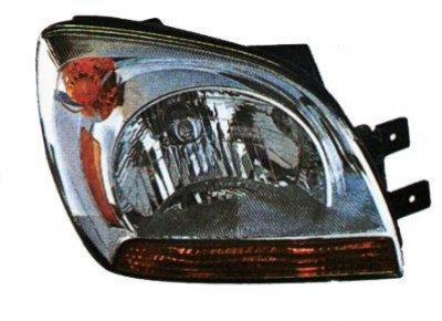 Kia Sportage 2005-2008 Right Passenger Side Replacement Headlight