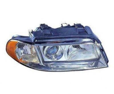 Audi A4 1999-2001 Right Passenger Side Replacement Headlight