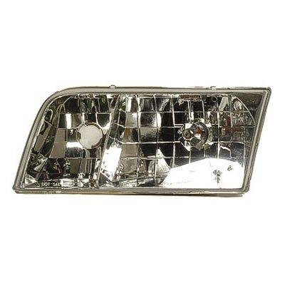 Ford Crown Victoria 1998-2011 Left Driver Side Replacement Headlight
