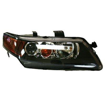 Acura TSX 2004-2005 Right Passenger Side Replacement Headlight