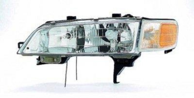 Honda Accord 1994-1997 Left Driver Side Replacement Headlight