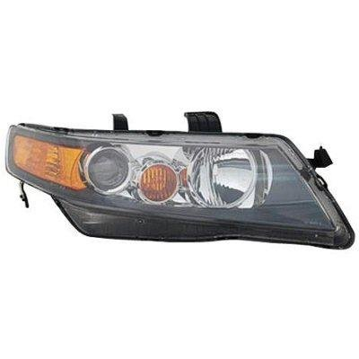 Acura TSX Right Passenger Side Replacement Headlight - 2006 acura tsx headlights