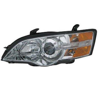 Subaru Legacy 2006-2007 Left Driver Side Replacement Headlight