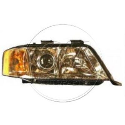 Audi A6 1995 Right Passenger Side Replacement Headlight