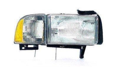 Dodge Ram 2500 1994 2002 Right Penger Side Replacement Headlight