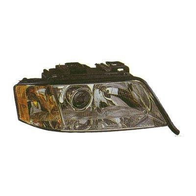 1999 Audi A6 V6 Right Passenger Side Replacement Headlight