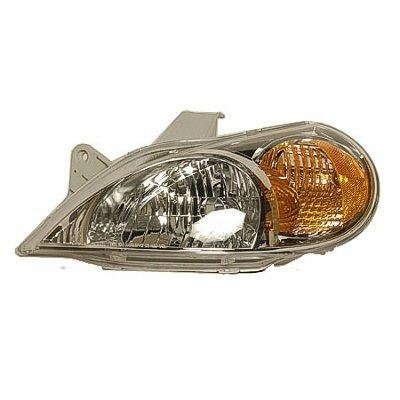 2002 Kia Rio Left Driver Side Replacement Headlight