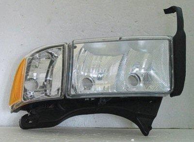 Dodge Ram Sport 2500 1999 2002 Right Penger Side Replacement Headlight