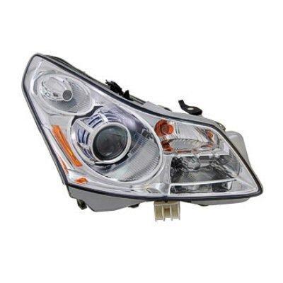 Infiniti G35 Sedan 2007-2008 Right Passenger Side Replacement Headlight