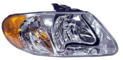 Dodge Caravan 2001-2007 Right Passenger Side Replacement Headlight