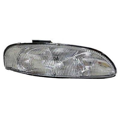 Chevy Monte Carlo 1995-1999 Right Passenger Side Replacement Headlight