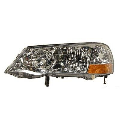 Acura TL Left Driver Side Replacement Headlight - 2002 acura tl headlight