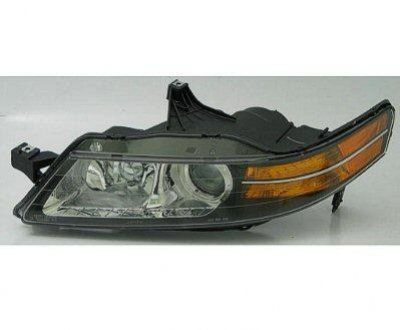 Acura TL Left Driver Side Replacement Headlight - Acura tl headlight bulb