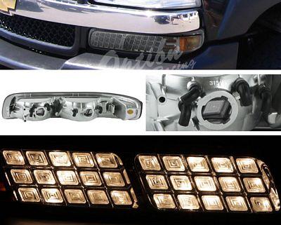 Chevy Silverado 1999-2002 Smoked Bumper Light