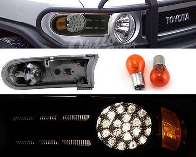 Toyota FJ Cruiser 2007-2009 Black Bumper Light