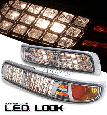 Chevy Silverado 1999-2002 Clear  Bumper Light