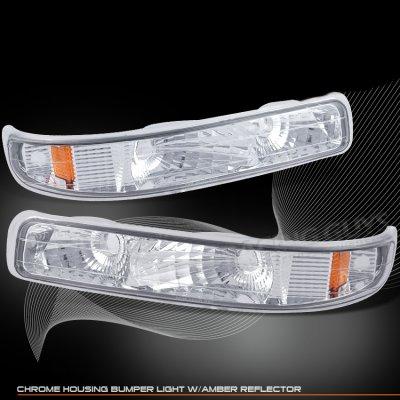 Chevy Silverado 1999-2002 Clear Bumper Lights