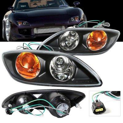 Mazda Rx7 1999 2002 Depo Black Per Lights