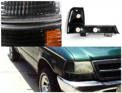 ford ranger 1998 2000 black bumper lights and corner lights a122zr1d105 topgearautosport. Black Bedroom Furniture Sets. Home Design Ideas