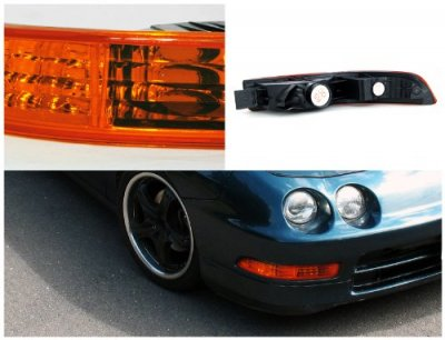 Acura Integra 1994-1997 Bumper Lights Amber