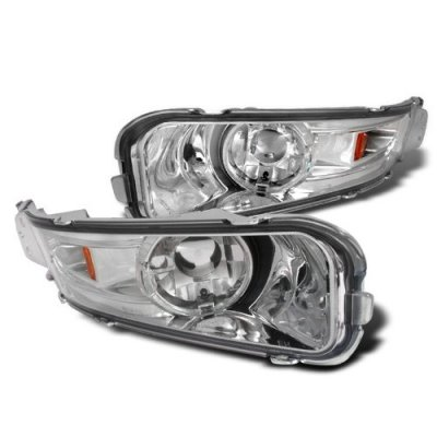 Ford Mustang 2005-2009 Clear Front Bumper Lights