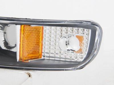 GMC Yukon 2000-2006 Black Bumper Lights
