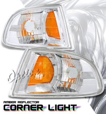 Honda Civic 1992-1995 Clear Corner Lights