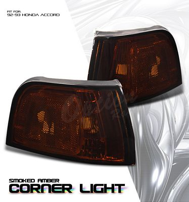 Honda Accord 1992-1993 Smoked Corner Lights