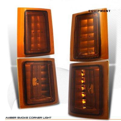 Chevy 2500 Pickup 1988-1993 Amber Smoked Corner Lights