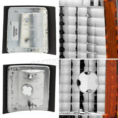 Chevy Suburban 1994-1999 Chrome Corner Lights