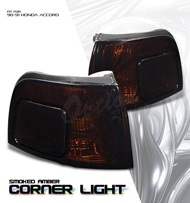 Honda Accord 1990-1991 Smoked Corner Lights