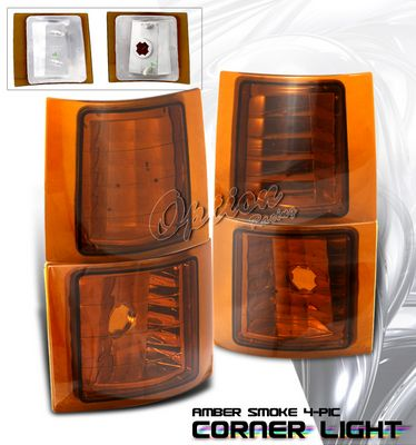 corner lighting chandelier chevy silverado 19941998 amber smoked corner lights a101vq8d107