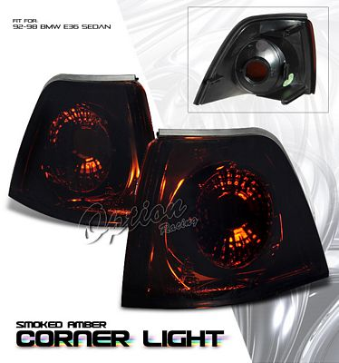 BMW E36 Sedan 3 Series 1992-1998 Smoked Corner Lights