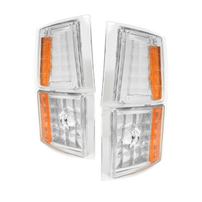 Chevy Silverado 1994-1998 Clear Corner Lights