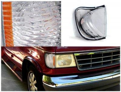 Ford Econoline Van 1992-2006 Clear Corner Lights
