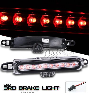 Acura RSX 2002-2004 Clear LED Third Brake Light