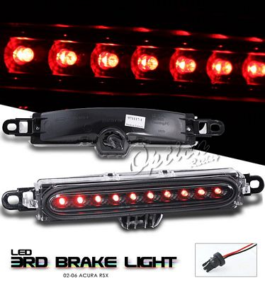 Acura RSX 2002-2004 Black LED Third Brake Light