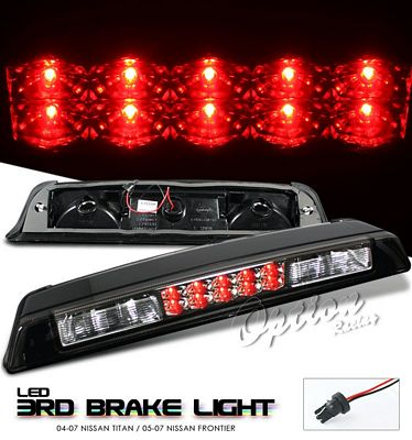 Nissan Frontier 2005-2007 Black LED Third Brake Light