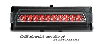 Chevy Corvette 1991-1996 Clear LED Third Brake Light