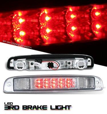Dodge Dakota 1997-2004 Clear LED Third Brake Light