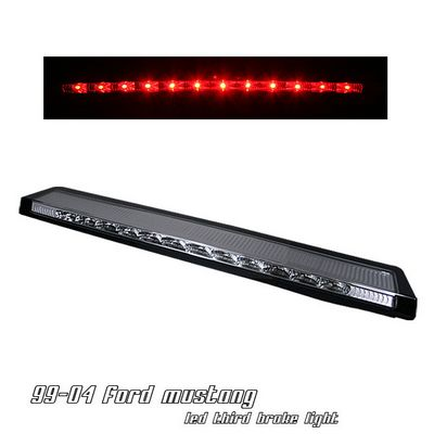 Ford Mustang 1999-2004 Clear LED Third Brake Light