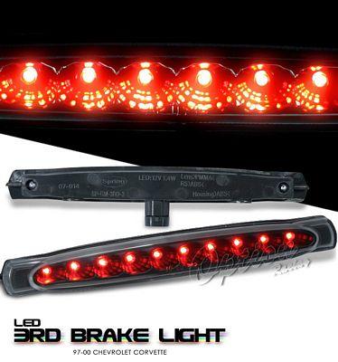Chevy Corvette 1997-2000 Black LED Third Brake Light
