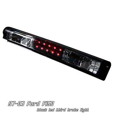Ford F150 1997-2003 Black LED Third Brake Light