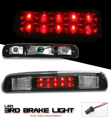 Ford F350 Super Duty 1999 2008 Smoked Led Third Brake
