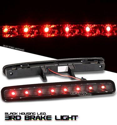 Ford Mustang 2005-2009 Black LED Third Brake Light