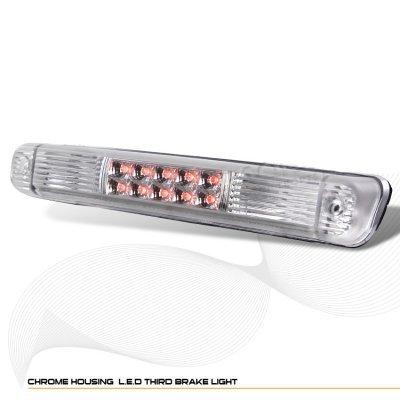 Chevy 3500 Pickup 1988-2000 Clear LED Third Brake Light