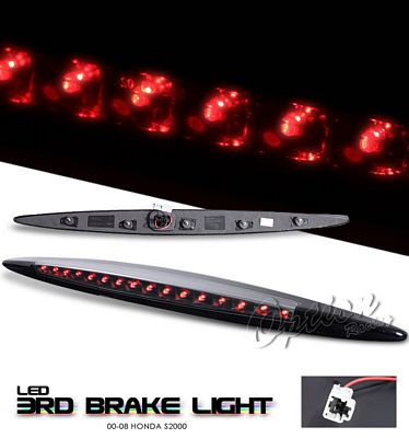 Honda S2000 2000-2008 Black LED Third Brake Light